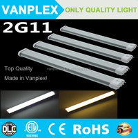 Buy excellent heat dissipation 4 pin 22w pll led tube 2g11 led in ...