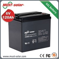 MUST battery manufacturer 12v 220ah used electric forklift battery