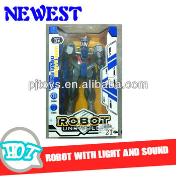 2014 NEW PRODUCTS! ROBOT WITH LIGHT AND SOUND