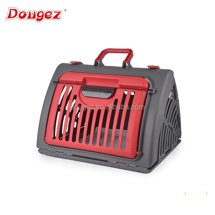 Factory outlet Luxury Cat Carrier box Hi-Q Collapsible Pet dog cat cage Portable bunk transport house for dog cat