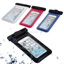 Manufacturer directly supply high quality custom clear plastic PVC lining waterproof bag for phone or camera
