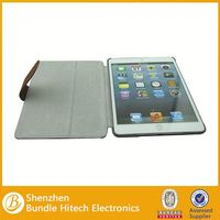 for iapd mini stand case with back cover , for ipad mini accessories