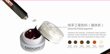 GOOCHIE Top Quality Eyebrow Cosmetic Pigment Color Paste