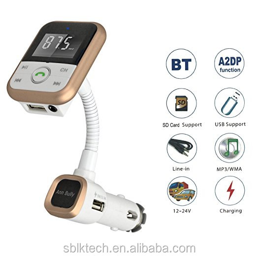 Quality Car Audio Instruction Car MP3 Player FM Transmitter USB