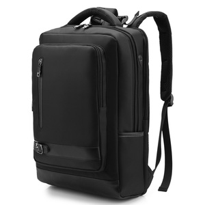 OEM Multi-functional Urban Anti theft 3 compartment Ballistic Nylon Executive USB laptop bag backpack