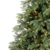 Hinged Automatic artificial PE Christmas trees with Led lights