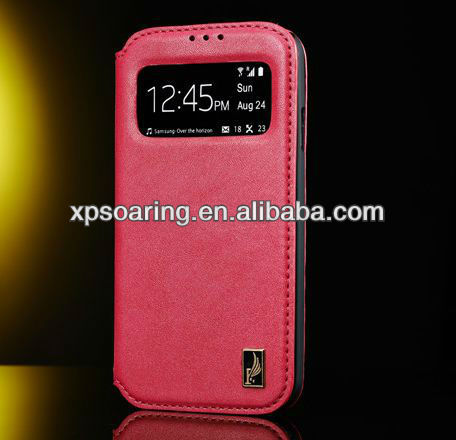 for Samsung Galaxy S4 I9500 Cellphone leather case pouch case