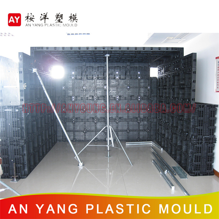 Universal Hot Product Plastic Shuttering Formwork For Concrete