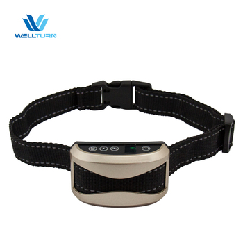 2018 Best Quality 1-7 Sensitivity Levels Customized Pet Stop Bark Collar Bark Stop Collar for Sale