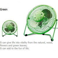 Low Noise DC 5V 2.5W Air Ventilator Small Mini Table Fan