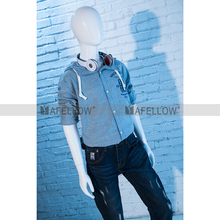 Wholesale mannequin Abstract Mannequin Teenager Fiberglass Mannequin Boys Full Body Dummy Child Model SK07FR