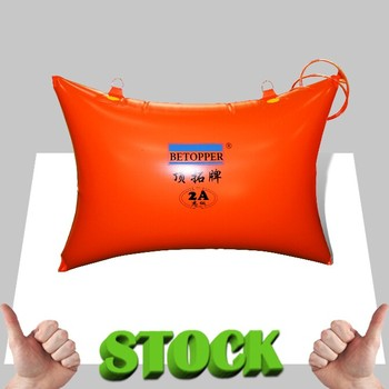 Promotion! 1000 x 500mm high quality polymer stone pushing bag