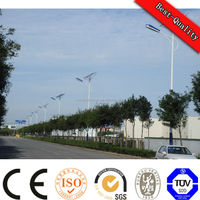 2016 high quality outdoor steel solar led street light