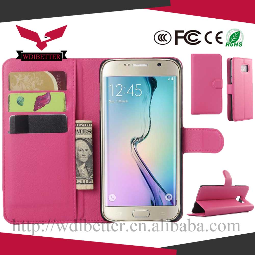 pu leather wallet case for Galaxy S4,for Samsung galaxy S4 mini universal wallet case