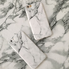 New Arrival High Quality IMD White&Gold Marble Phone Case For Iphone 6 6s 6Plus 6s Plus 7 7 Plus Protective TPU Soft Case Cover