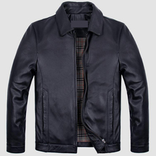 Men''s cow leather jacket
