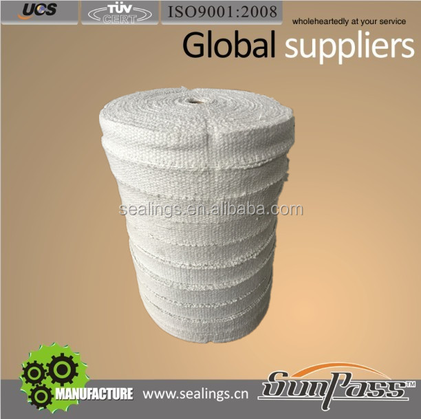 Heat Insulation Material 1400C Tape Ceramic Weld Backing Tape