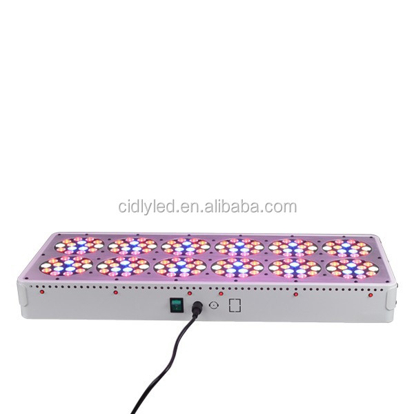 Cidly LED 12 450W Led Hydropnic Lamp Plant Grow Light Panel Replace 1000W HID Grow Light 180X3W