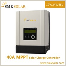 40A MPPT solar <strong>charge</strong> <strong>controller</strong> 12V/24V/36V/48V 18650 solar Lithium battery charger lifepo4 battery charger