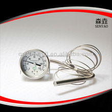 Remote reading thermometer (capillary thermometer)