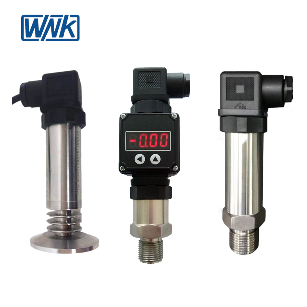 Explosion Proof 4~20mA Flush Open Diaphragm Pressure Transmitter, high accuracy 0.2%FS