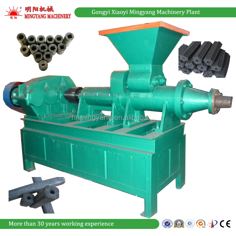 Factory price coal charcoal powder dust briquette making machine