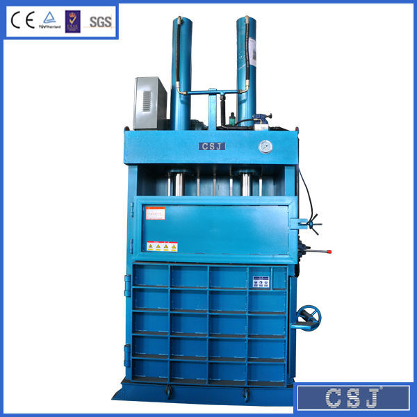 Vertical mini hydraulic pine straw baler for sale