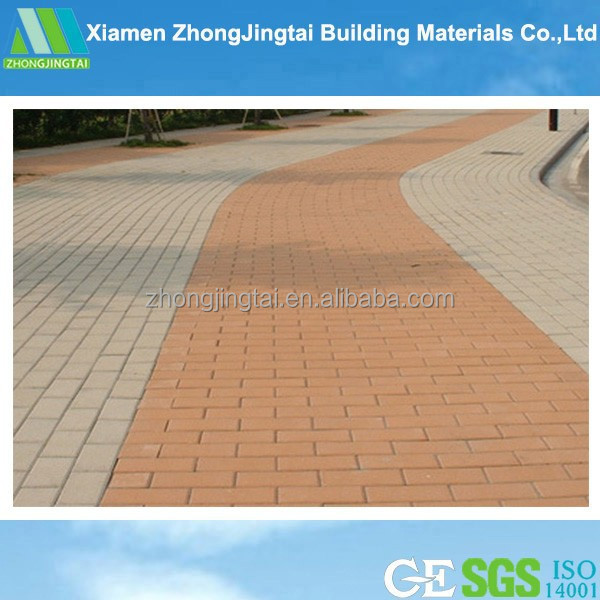 Road Materials Australia Standard black and orange garage floor tiles