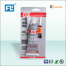 Industrial grade transportation usage RTV silicone glue flange sealant for auto parts