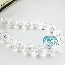 faceted crystal beads