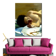 Classical Dafen Oil Painting Nude Art Woman Body Painting Best Quality Canvas Prints for Room Decoration