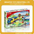 72pcs Duplo Series Plastic Toy Train