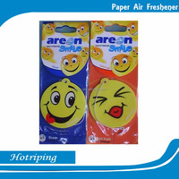 Promotion cheap hanging car air freshener