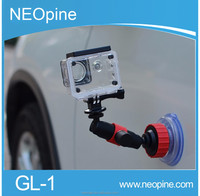 Hot Sale Car Strong Suction Cup for Go Pro 3+ 4 Stand Holder for Go pro Camera