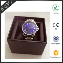 3 atm water resistant watch 2016 japan movement clock wrist watch production logo customized wrist watch