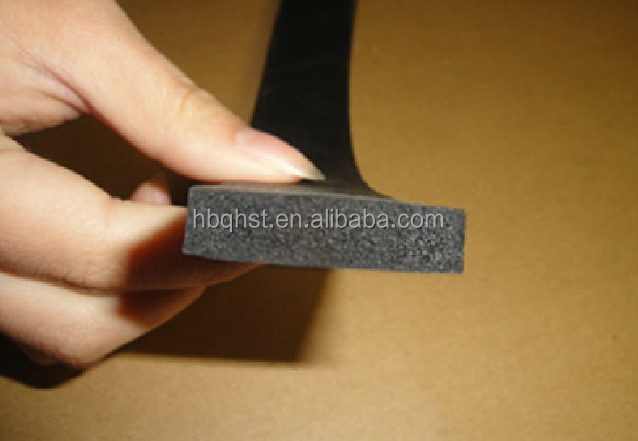 wholesale product!!! Extruded truck tubular foam rubber square edge/rubber sealing strips