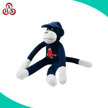wholesale custom soft plush blue monkey toy