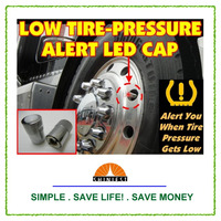 2016 Best Selling Tire Pressure indicator LED Alert Cap for trucks and autos