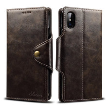 Hot selling PU leather flip smart cell phone case wallet stand card holder cover