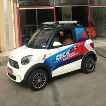 Cheap smart 4 wheel electric car for adult made in China