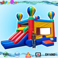 China factory direct sale kids balloon inflatable bouncer price dual slide combo