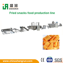Multifunctional fried corn chips snack food making machinery