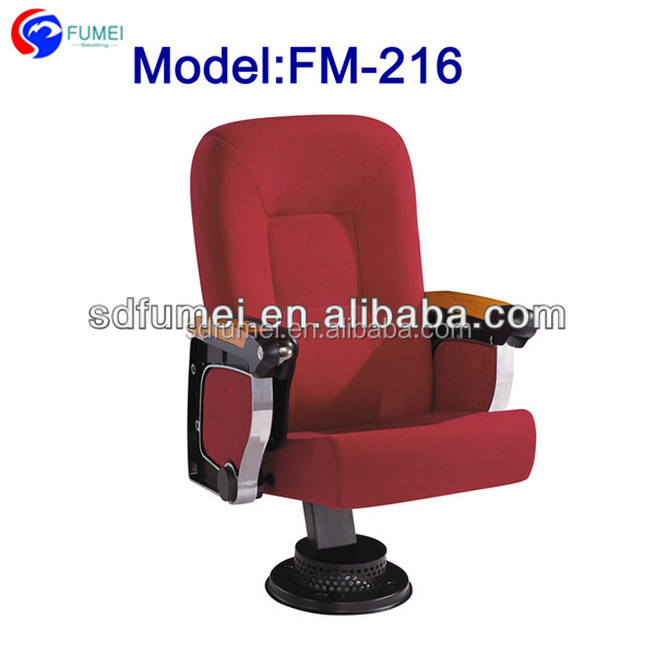 FM-216 Modern molded foam folding auditorium seat