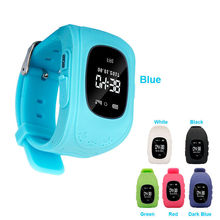 Baby SOS Smart Watch Q50 With Anti-lost GPS Tracker Kids Smart Phone Watch