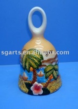 Ceramic wind dinner bell decoration