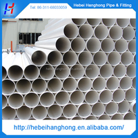10 inch large diameter pvc drainage pipe