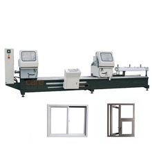 Double Blade Cutting Saw Aluminum Window Door Frame Processing Machine