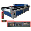 150W 2500*1200mm wood laser cutting machine for wood with water chiller CW5000
