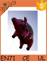 large event outdoor decorations, inflatable lovely pig