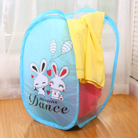 Q1078 Three folding laundry face ventilation nets cloth dirty clothes basket